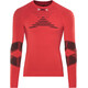 X-Bionic M's Effektor Power Running Shirt LS Flash Red/Black